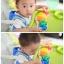 จิ๊กซอตัวหนอนจับคู่สี สร้างเฟืองหมุนต่อกัน Rainbow Caterpilar Gear Toy thumbnail 7