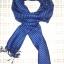 ผ้าพันคอย้อมครามทอมือ Premium Gift *สินค้า Handmade 100% ราคา 490 บาท(Ems +70) Bagshopweb.com thumbnail 4