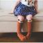 SK058••ถุงเท้าเด็ก•• สุนัขจิ้งจอก มี 2 ไซส์ (ข้อยาว) thumbnail 1