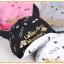 หมวกแก๊ป หมวกเด็กแบบมีปีกด้านหน้า ลาย Little Monster (มี 5 สี) thumbnail 6