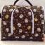 กระเป๋าผ้าคอตตอล (ใส่กรงโค้งได้) น้ำตาลแมวนำโชค thumbnail 2