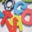ตัวอักษรไม้แม่เหล็ก A-Z ของเล่นไม้แฟนซี thumbnail 5