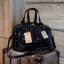 กระเป๋า David Jones กระเป๋าสะพายข้างดีไซน์เกร๋มาก สีดำเงาสวยหรูมาก ขนาดกะลังดีเลย thumbnail 5