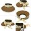 HT040••หมวกเด็ก•• / หมวกปีกกว้างสีกาแฟ thumbnail 4