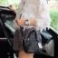 กระเป๋า David Jones Mini Luxury Bag ขนาด มินิ น่ารักมากๆค่ะ ขนาดตอบทุกโจทย์ กับการใช้ออกงาน เห็นใบเล็กๆแบบนี้ จุของคุ้มนะ สวยมาก thumbnail 10