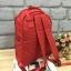 กระเป๋า Anello rucksack nylon day pack back 2017 Red ราคา 1,290 บาท Free Ems thumbnail 5