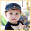 หมวกเด็ก หมวกเบเร่ต์-ลายแมว (มี 4 สี) thumbnail 8