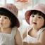 หมวกปีกเด็กหญิง ใส่ได้ 2 ด้าน น่ารักสไตล์เกาหลี thumbnail 5