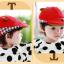 หมวกเด็ก หมวกเบเร่ต์-ลายแมว (มี 4 สี) thumbnail 4