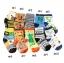 ถุงเท้าเด็กเล็ก ชาย 1-3 ปี มีกันลื่น พิมพ์ลายการ์ตูน แฟชั่นญี่ปุ่น thumbnail 3