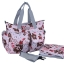 Ecosusi กระเป๋าสัมภาระสำหรับคุณแม่ กระเป๋าใส่ผ้าอ้อม ช่วยคุณแม่จัดระเบียบของให้ลูกน้อย กันน้ำ ช่องเยอะ (ECOSUSI Large Diaper Tote Baby Mummy Bag) thumbnail 31