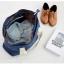 กระเป๋าสะพายผ้าแคสวาส เสียบกระเป๋าเดินทางได้ มีช่องใส่สองชั้นบน-ล่าง กระเป๋าเล็กแยก เหมาะมากสำหรับเดินทาง ท่องเที่ยว มี 9 สีให้เลือก thumbnail 28