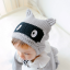 หมวกไหมพรม หมวกบีนนี่สำหรับเด็ก ลายแร็คคูน (มี 2 สี) thumbnail 8