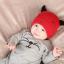หมวกบีนนี่ หมวกเด็กสวมแบบแนบศีรษะ ลายหน้ายิ้ม (มี 5 สี) thumbnail 7
