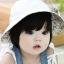 หมวกปีกเด็กหญิง ใส่ได้ 2 ด้าน น่ารักสไตล์เกาหลี thumbnail 3