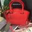กระเป๋า CHARLES & KEITH TRAPEZE CITY BAG 2016 สีแดง กระเป๋าถือหรือสะพายหนัง Saffiano thumbnail 1