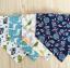 ผ้าซับน้ำลายสามเหลี่ยม ผ้ากันเปื้อนเด็ก แบบใช้ได้ 2 ด้าน / มี 4 ลาย thumbnail 2