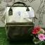 กระเป๋าเป้ Anello Polyester Canvas Rucksack Classic วัสดุผ้าแคนวาส รุ่นคลาสสิคพิเศษมีซิปด้านหลัง thumbnail 7