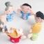 หุ่นนิ้วมือ ชุดครอบครัวสุขสันต์ Set 6 คน แบรนด์ NanaBaby thumbnail 6