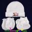 ชุดหมวก ถุงมือ ถุงเท้า ผ้าลิปเข้าชุดกัน (แพ็ค 12 เซ็ต) thumbnail 2
