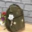 กระเป๋า Anello rucksack nylon day pack back 2017 สี Khakhi ราคา 1,290 บาท Free Ems thumbnail 5