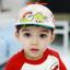 HT521••หมวกเด็ก•• / หมวกเบเร่ต์-ลิงขับเครื่องบิน [สีเบจ] thumbnail 1