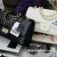 กระเป๋า KEEP shoulder chevon chain handbag สีดำ สวย หรู มากๆ เลยน๊า กระเป๋าอยู่ทรง #หนังแกะนิ่มมากคะ สายโซ่สะพายสบายคะ สายปรับ สั้น ยาวได้คะ ภายในสีแดง มีช่องใส่ของจุกจิกหลายช่องแบ่งเก็บของเป็นสัดส่วนมากๆคะ #ใบจริงสวยมาก เข้ากับชุดได้ง thumbnail 11