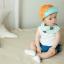 HT397••หมวกเด็ก•• / หมวกแก็ป Happy (สีส้ม) thumbnail 3