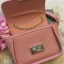กระเป๋า CHARLES & KEITH PUSHLOCK CROSSBODY BAG สีชมพูพีช ราคา 1,390 บาท Free Ems thumbnail 2