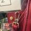 LYN Madison Bag สีแดง กระเป๋าถือหรือสะพายทรงสวย รุ่นใหม่ล่าสุด วัสดุหนัง Saffiano thumbnail 5