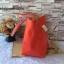กระเป๋า MNG Shopper bag สีแดง กระเป๋าหนัง เชือกหนังผูกห้วยด้วยพู่เก๋ๆ!! จัดทรงได้ 2 แบบ thumbnail 4