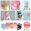 เซตหมวก+ผ้าซับน้ำลาย / ลาย Cat Baby (มี 5 สี) thumbnail 1