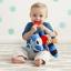 ตุ๊กตาโมบายผ้าเสริมพัฒนาการ รูปแรคคูน SKK Baby รุ่น BANDANA BUDDIES activity toy - Racoon thumbnail 2