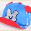 หมวกแก๊ป หมวกเด็กแบบมีปีกด้านหน้า ลาย M (มี 5 สี) thumbnail 6