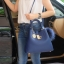 KEEP LALA BAG Classic สีใหม่ Royal Blue thumbnail 9