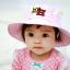 HT486••หมวกเด็ก•• / หมวกปีกกว้าง-DH (สีชมพู) thumbnail 1