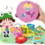 แทมบูรินไม้เคาะจังหวะสำหรับเด็ก การ์ตูนคละลาย - Tambourine musical educational toy thumbnail 2