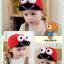 หมวกแก๊ป หมวกเด็กแบบมีปีกด้านหน้า ลายกบเคโระ (มี 5 สี) thumbnail 3