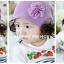 หมวกไหมพรมเด็กเล็ก มีปอยผมแกะสองข้างน่ารัก thumbnail 2