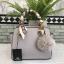กระเป๋า KEEP saffiano leather Mini office bag สีเทา สวย น่ารัก ขนาดตอบทุกโจทย์การใช้งาน thumbnail 8