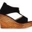 รองเท้าส้นเตารีดไซส์ใหญ่ 40-42 Zipper หนังกลับนิ่ม สีดำ - KR0235 thumbnail 3