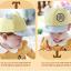หมวกแก๊ป หมวกเด็กแบบมีปีกด้านหน้า ลายหมีน้อย (มี 4 สี) thumbnail 10