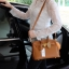 กระเป๋า Berke กระเป๋าทรงสุดฮิต ใบใหญ่จุของคุ้มคะ ตัวกระเป๋าหนัง Pu ดูแลรักษาง่าย น้ำหนักเบา ตัวกระเป๋า ปรับได้ 2 ทรง ทรงรัดสายคาด กับ ถอดออกได้ ภายในบุด้วยหนัง PU เนื้อเรียบสีชมพู มีช่องใส่ของจุกจิกได้ #ใบนี้สวยหรูมาก New arrival! thumbnail 8