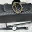 กระเป๋า KEEP shoulder chevon chain handbag สีดำ สวย หรู มากๆ เลยน๊า กระเป๋าอยู่ทรง #หนังแกะนิ่มมากคะ สายโซ่สะพายสบายคะ สายปรับ สั้น ยาวได้คะ ภายในสีแดง มีช่องใส่ของจุกจิกหลายช่องแบ่งเก็บของเป็นสัดส่วนมากๆคะ #ใบจริงสวยมาก เข้ากับชุดได้ง thumbnail 7