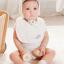 AP169••เซตหมวก+ผ้ากันเปื้อน•• / [ขาว] มงกุฎ thumbnail 3