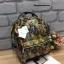 กระเป๋าเป้ Anello x Legato Largo Botanical & Cat nylon Cap fasteners Backpack Black Button รุ่นคลาสสิค thumbnail 2