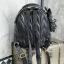 KEEP genuine Leather Mini Chic Backpack Classy Black #ใบนี้หนังแท้เลยค่ะ thumbnail 3