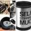 แก้วคนเองอัตโนมัติ Drink in motion mug <พร้อมส่ง> thumbnail 5