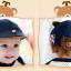 หมวกเด็ก หมวกเบเร่ต์-ลายแมว (มี 4 สี) thumbnail 11