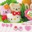 ชุดพิมพ์กดข้าว Hello Kitty & Friends < พร้อมส่ง > thumbnail 1